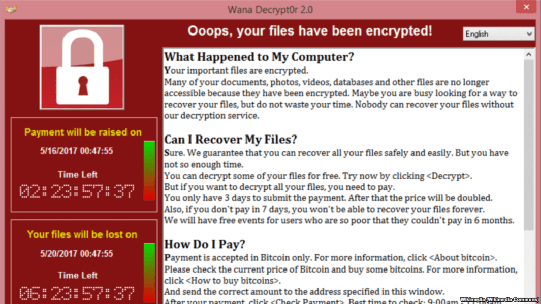 WannaCry Notice
