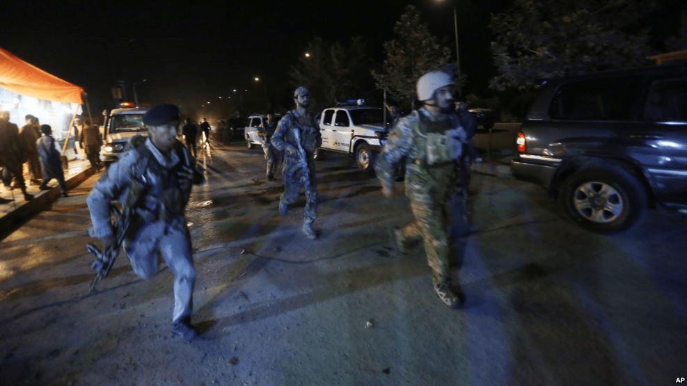 American University bajo ataque en Kabul