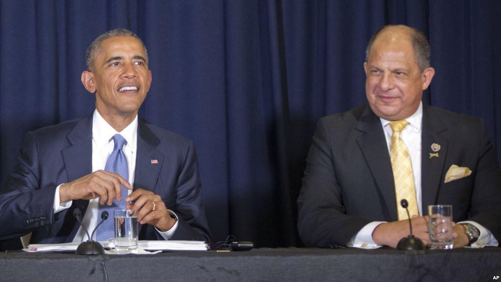 Obama entrega masiva donación militar a Costa Rica
