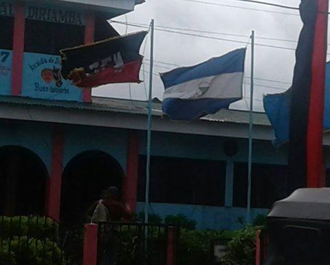 ¿Qué significa la bandera al revés?