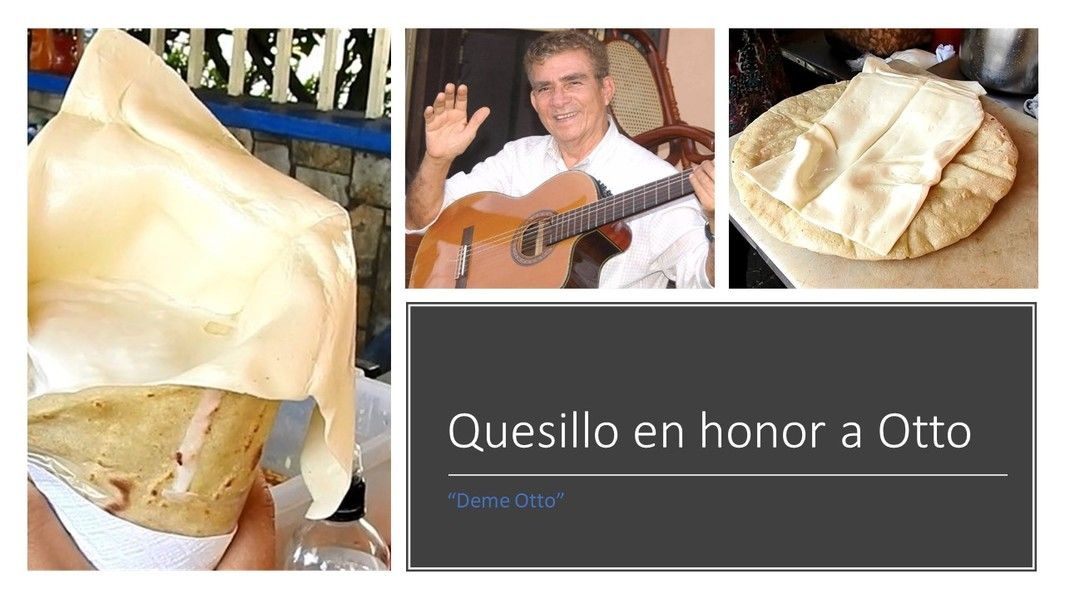 Crean un mega-quesillo en honor a Don Otto de La Rocha