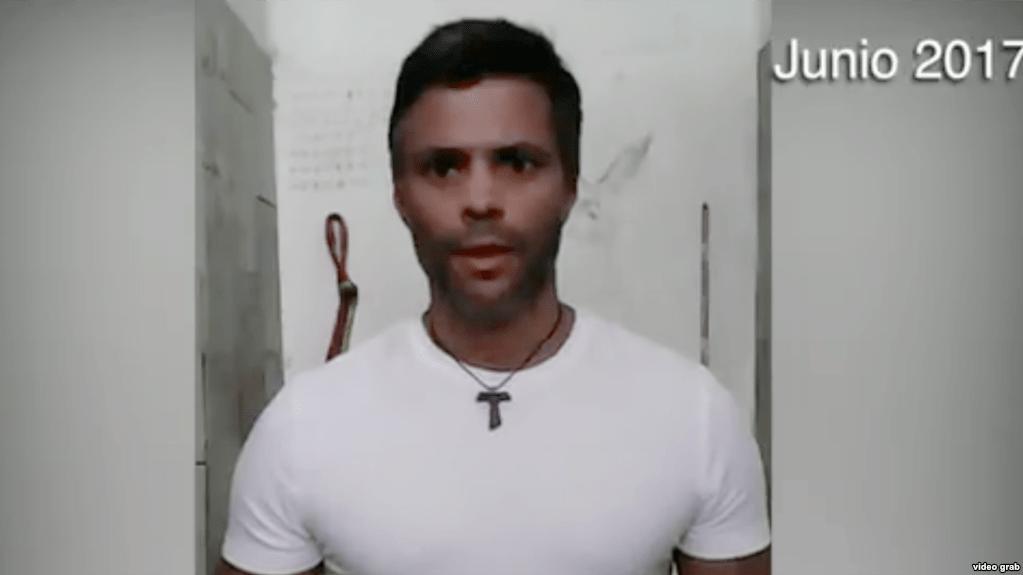 Leopoldo López llama a los militares a la rebelión
